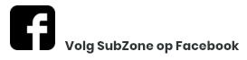 Volg Subzone op Facebook
