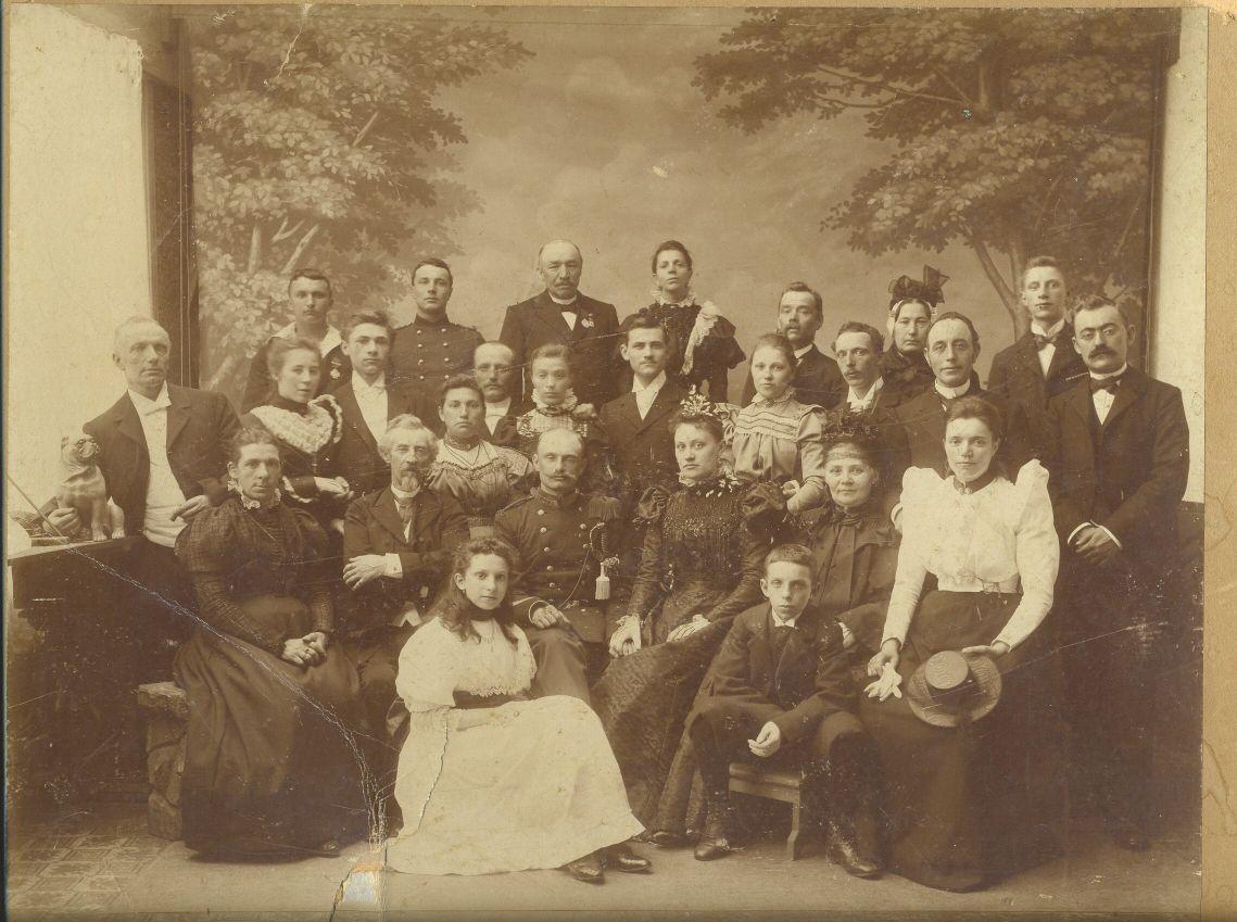 Auke Visser en de familie Lieveloo